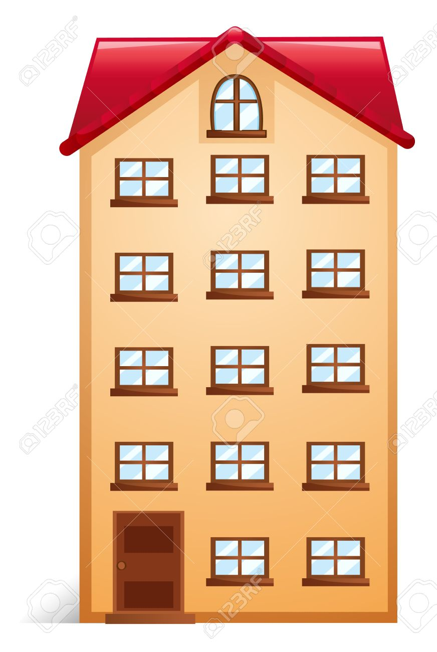 Brilliant Apartment Building Illustration You Need To Leave