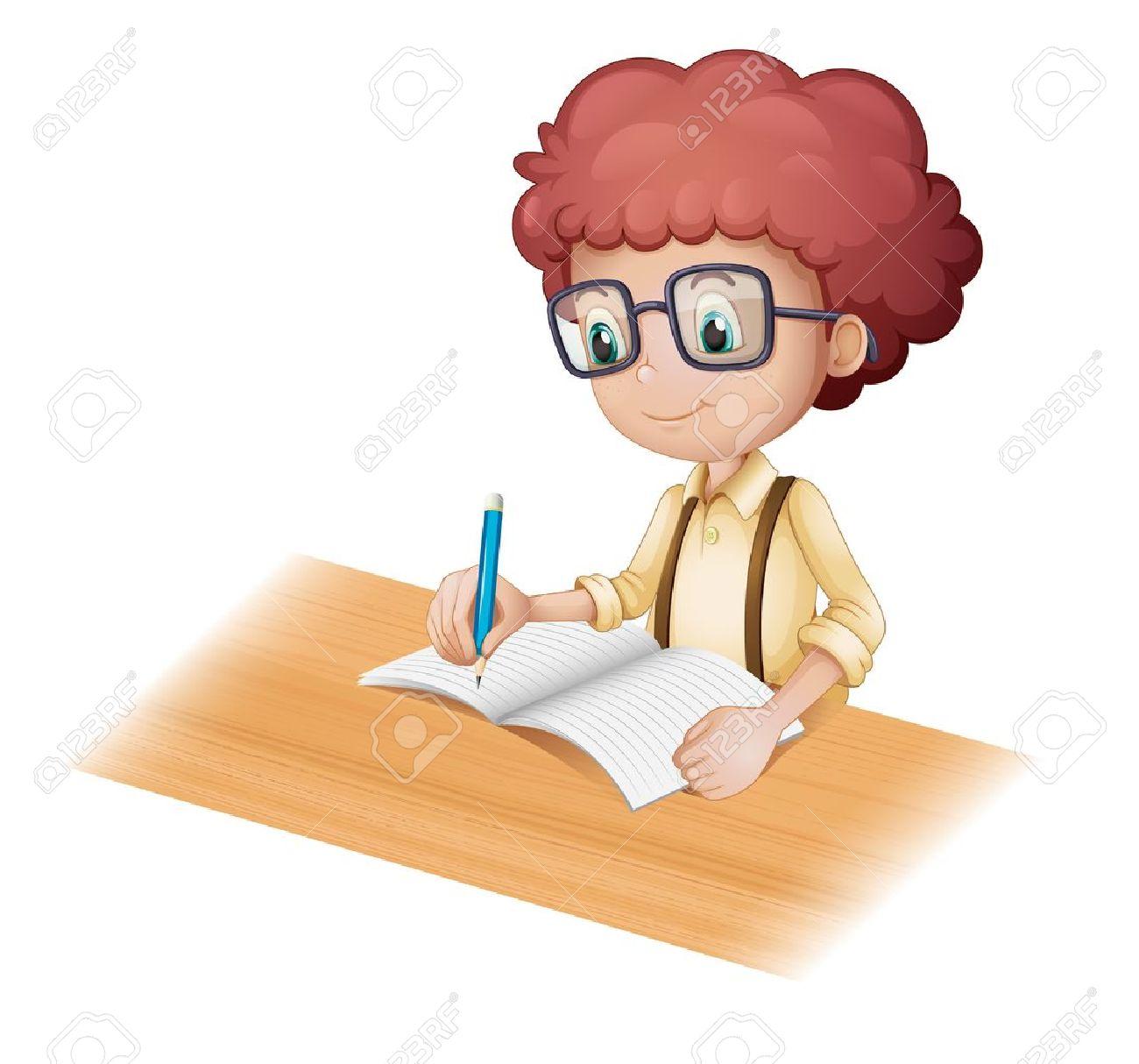 illustration writing