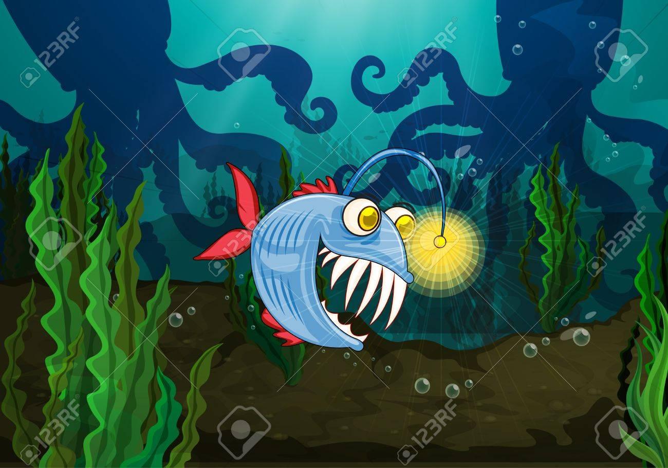 Resultado de imagen para monstruo del agua