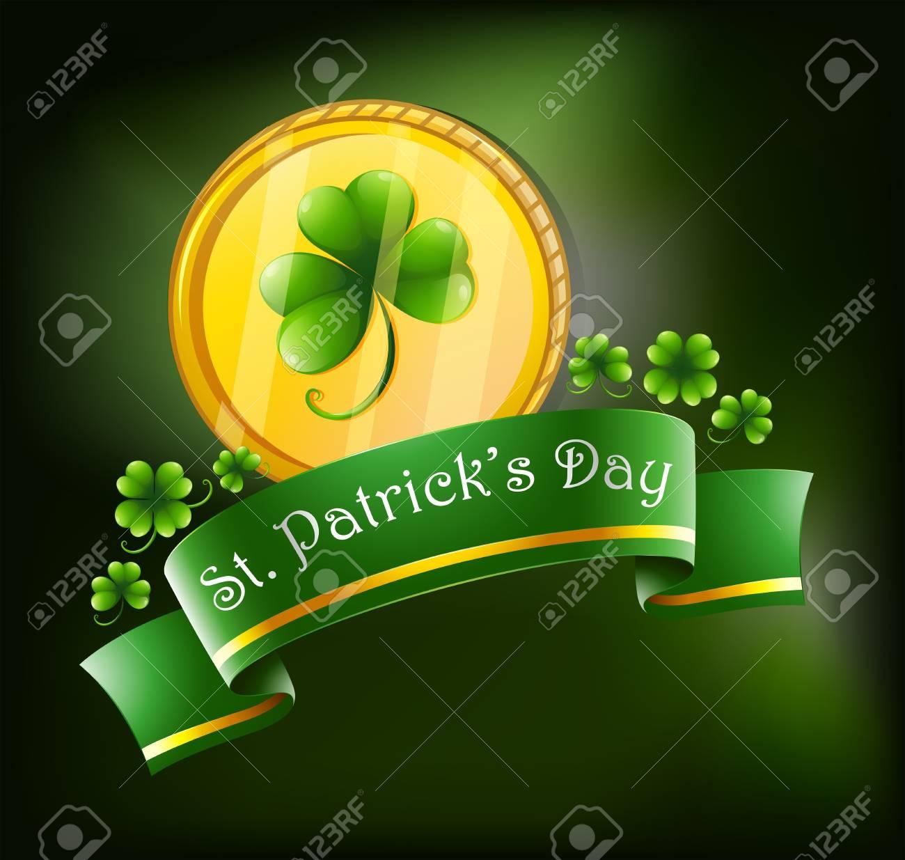 Illustration of the symbols for St. Patrick's celebration Stock Vector - 18390348