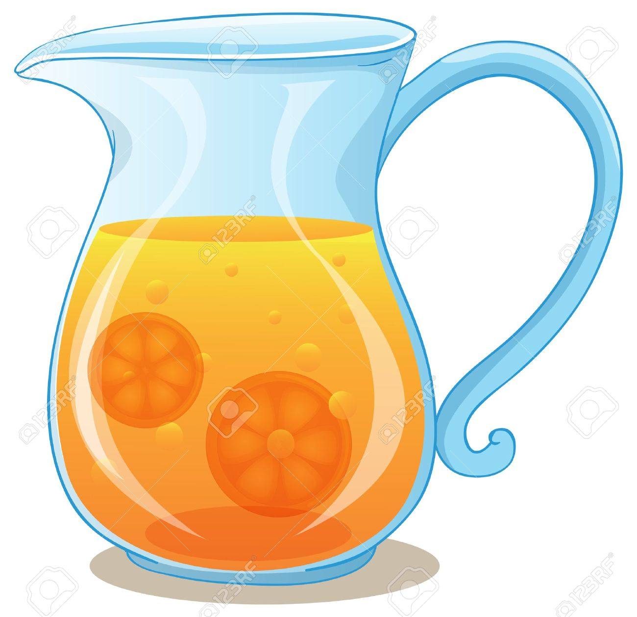 pitcher of orange juice images  stock pictures royalty free  - pitcher of orange juice illustration of a pitcher of orange juice on awhite background