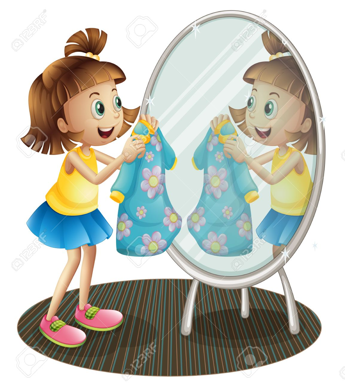 Clipart Mirror Images & Stock Pictures. Royalty Free Clipart ...