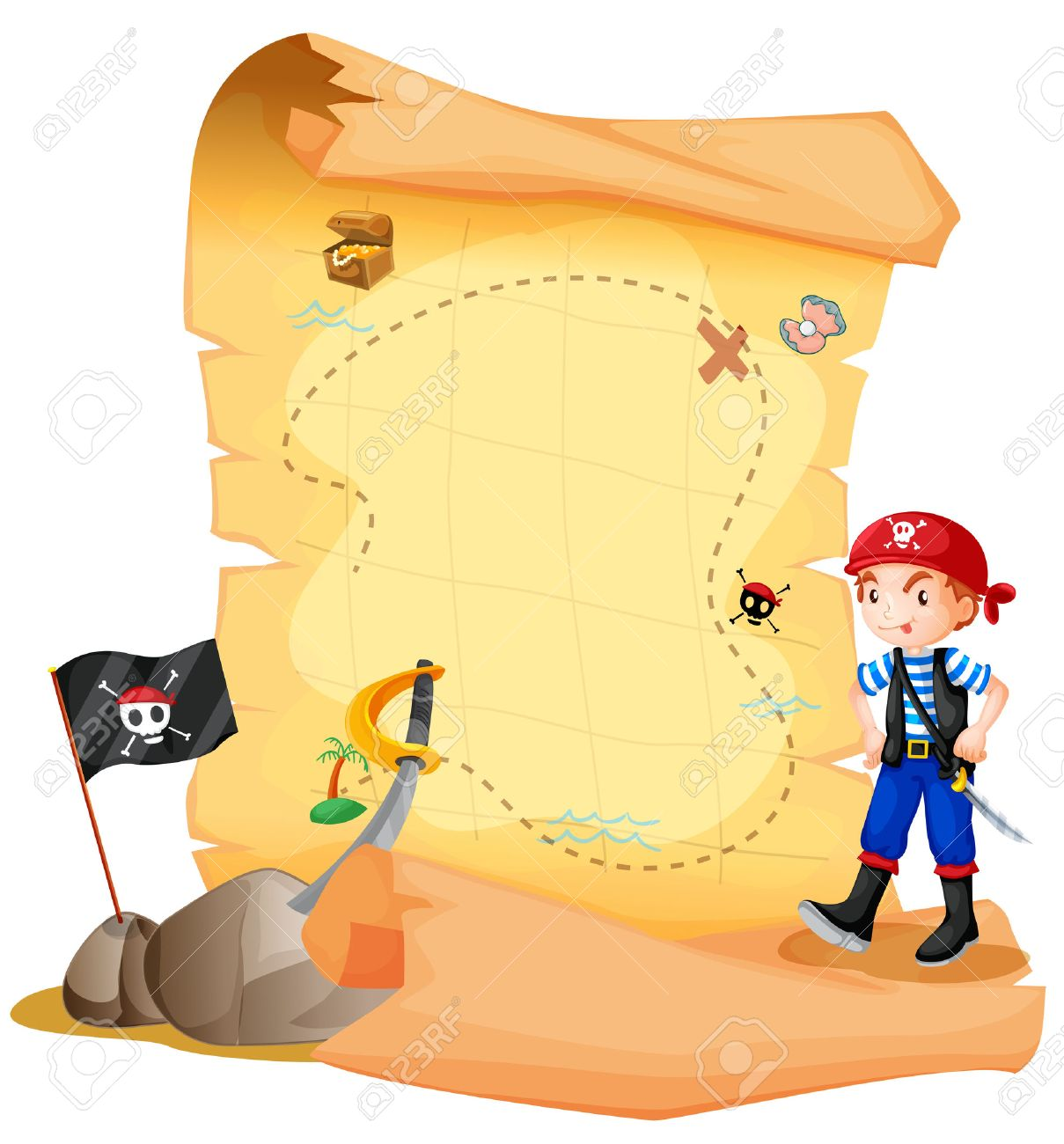 8 353 pirate treasure stock vector illustration and royalty free