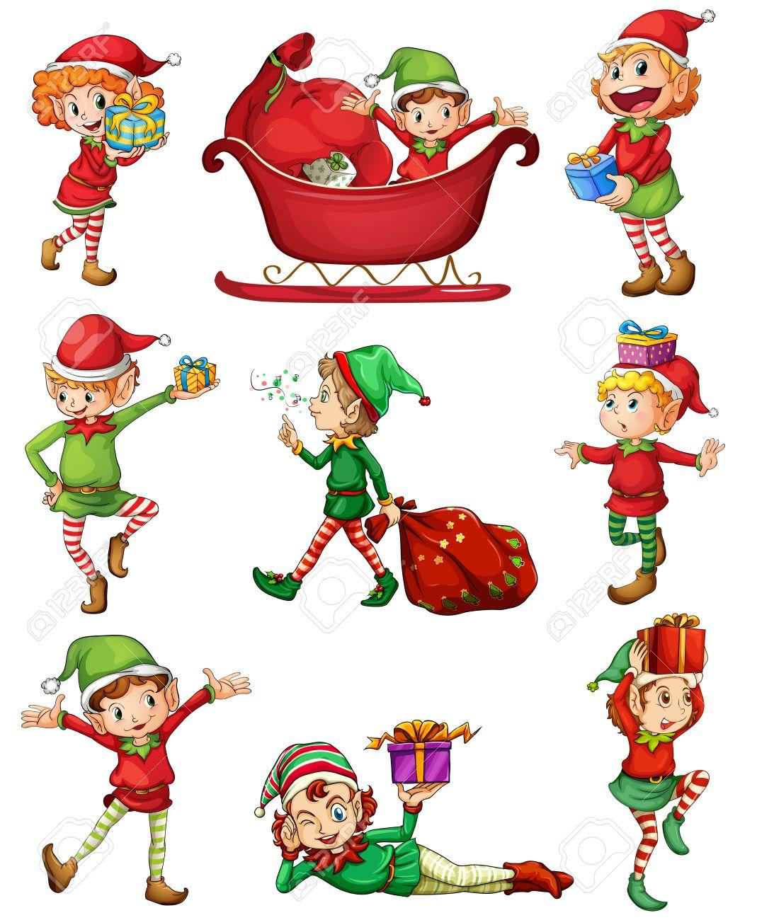 15,861 Elf Stock Illustrations, Cliparts And Royalty Free Elf Vectors