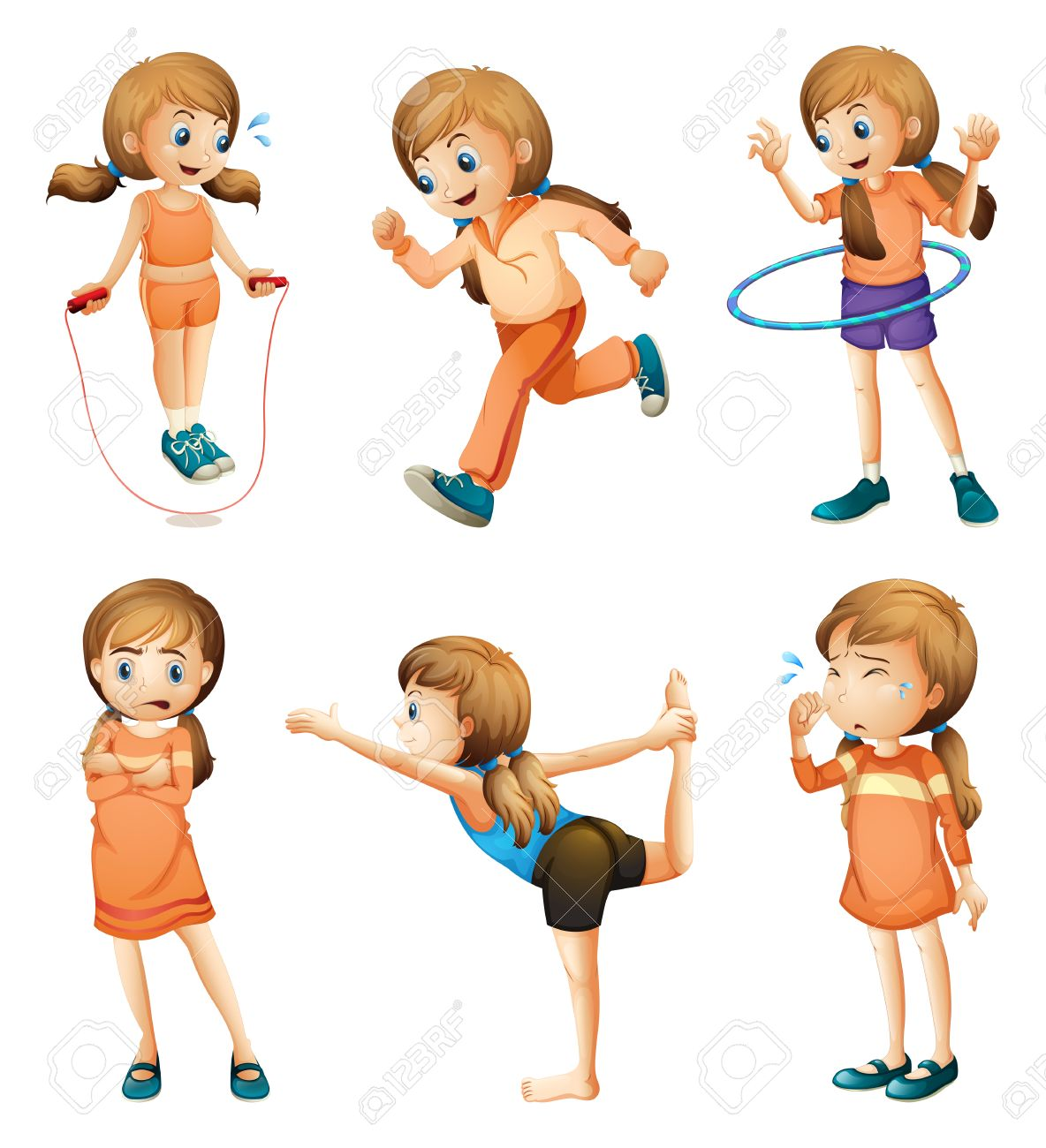 2,600 Skipping Rope Stock Illustrations, Cliparts And Royalty Free ...
