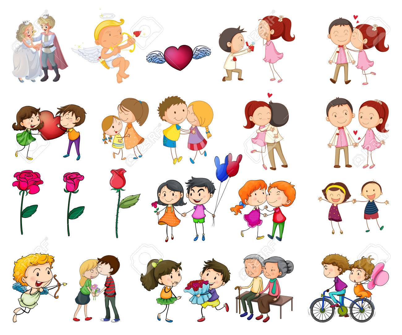 3,499 Happy Old Couple Cliparts, Stock Vector And Royalty Free ...