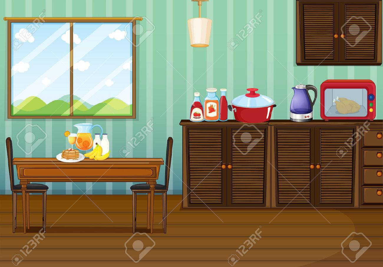Dining Room Cartoon. dining room escape escape fan. compare prices ...