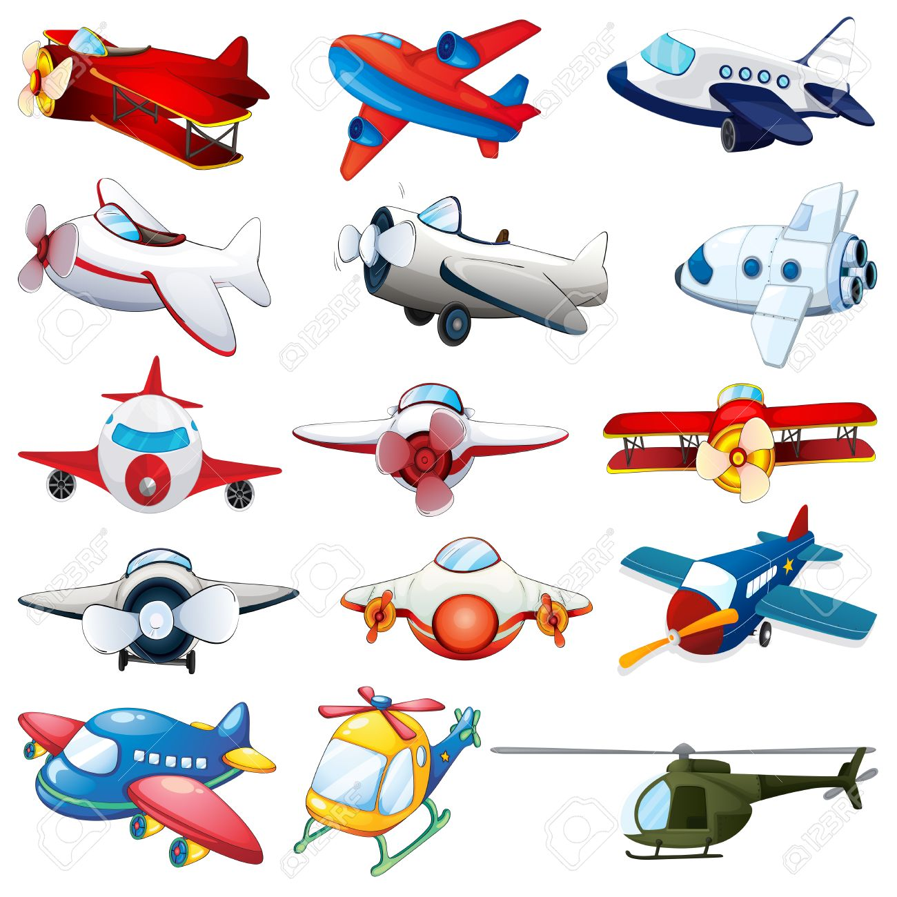 16,251 Airplane Cartoon Stock Illustrations, Cliparts And Royalty ...