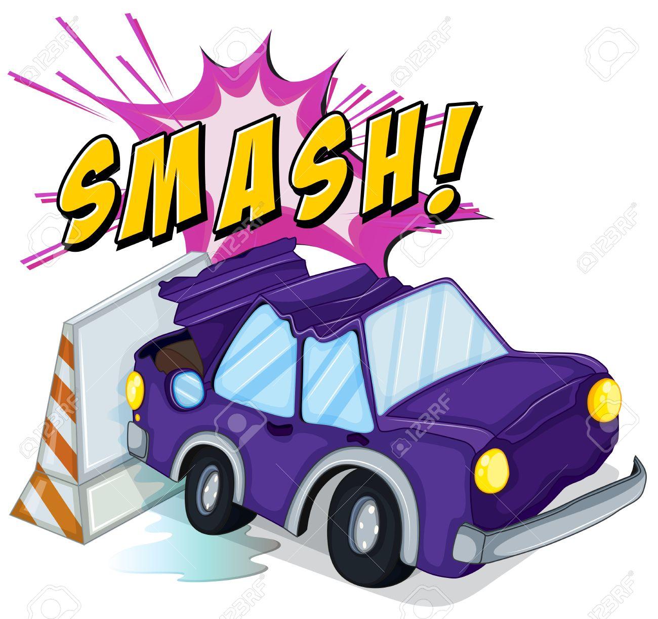4,873 Car Crash Cliparts, Stock Vector And Royalty Free Car Crash ...