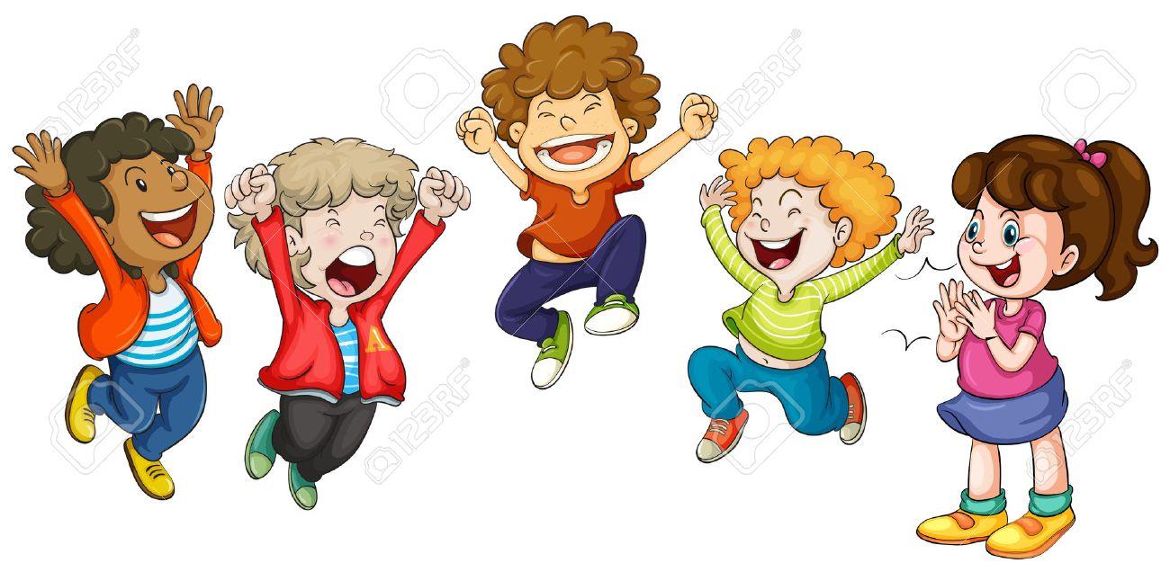 children hopping clipart 3042 | loadtve