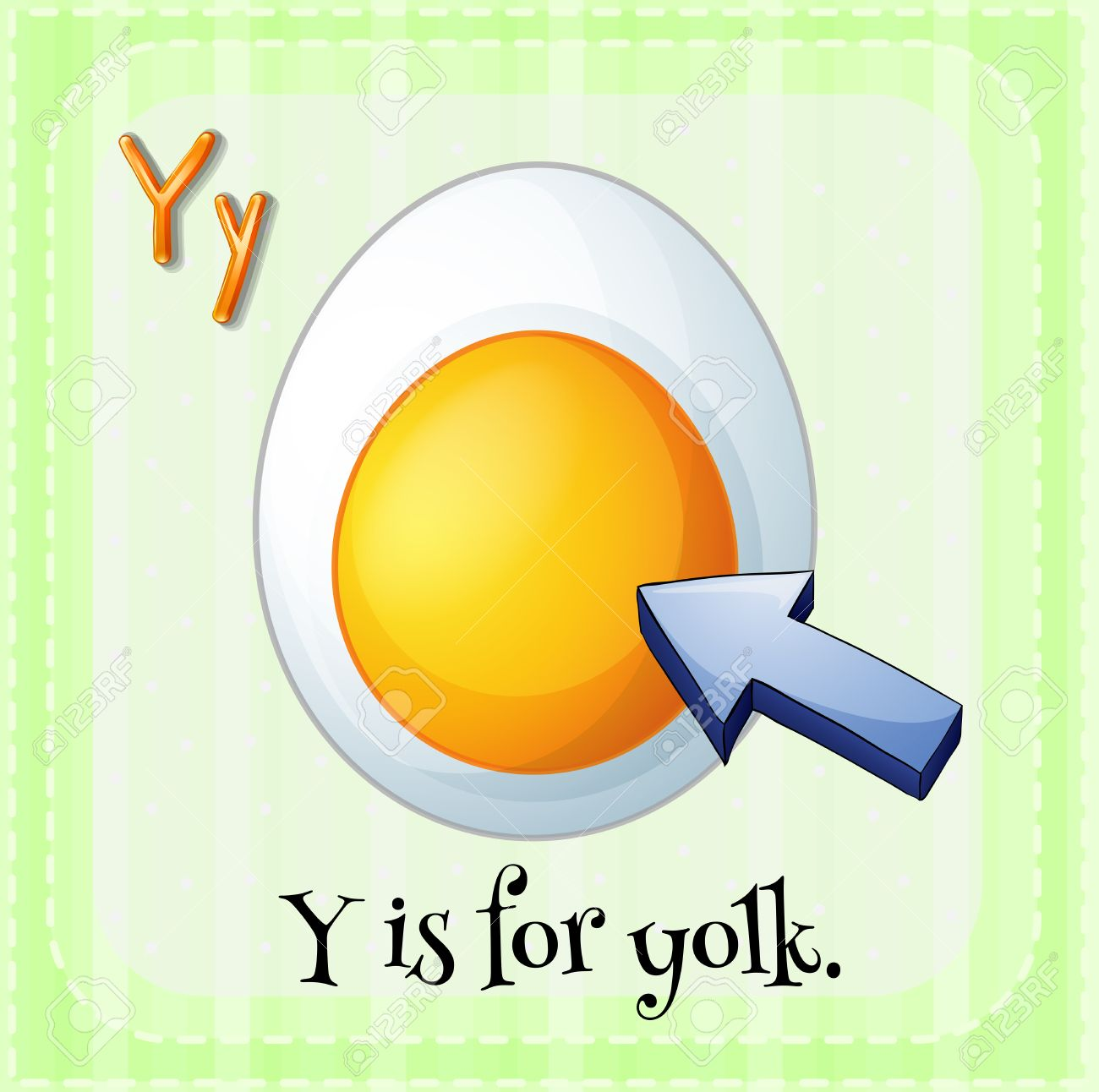 Illustration Of A Letter Y Is For Yolk Royalty Free Cliparts ... for Clipart Yolk  113cpg