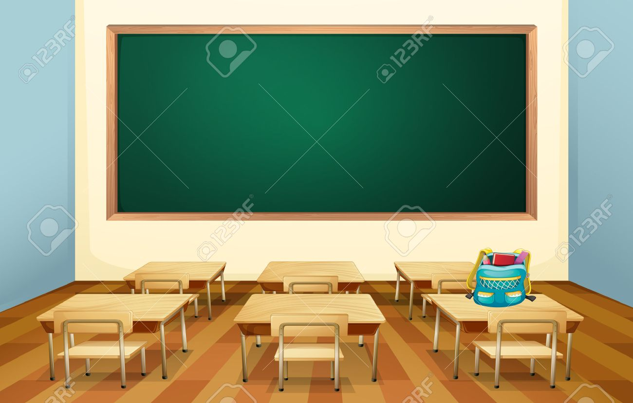 Cartoon classroom door - Classroom Door Cartoon Illustration Of An Empty Classroom Stock Vector Cartoon Classroom Door Empty Classroom