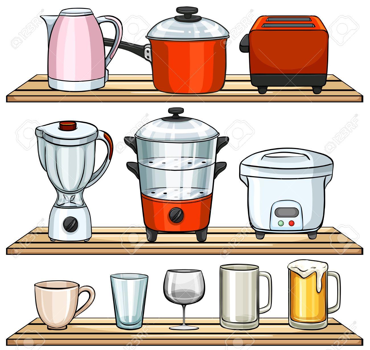 Uncategorized Different Kitchen Appliances different kind of kitchen appliances royalty free cliparts stock vector 38303735