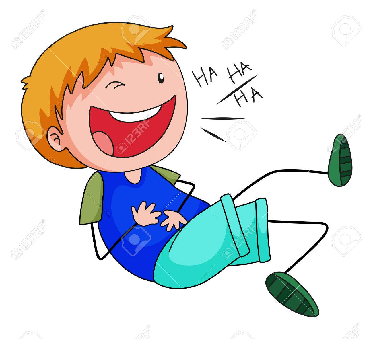 close up happy boy laughing alone royalty free cliparts vectors rh 123rf com laughing clipart animated laughing clipart emoji