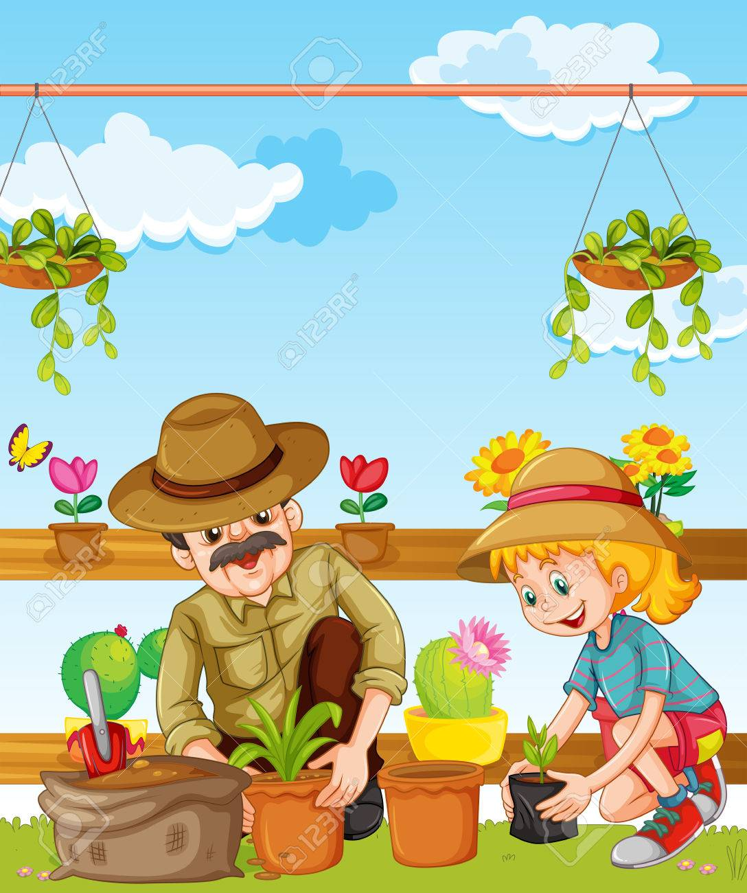 Use These To Grow A Garden To Feed Your Entire Family - Vegetable Garden  Cartoon Clipart (#5281509) - PikPng