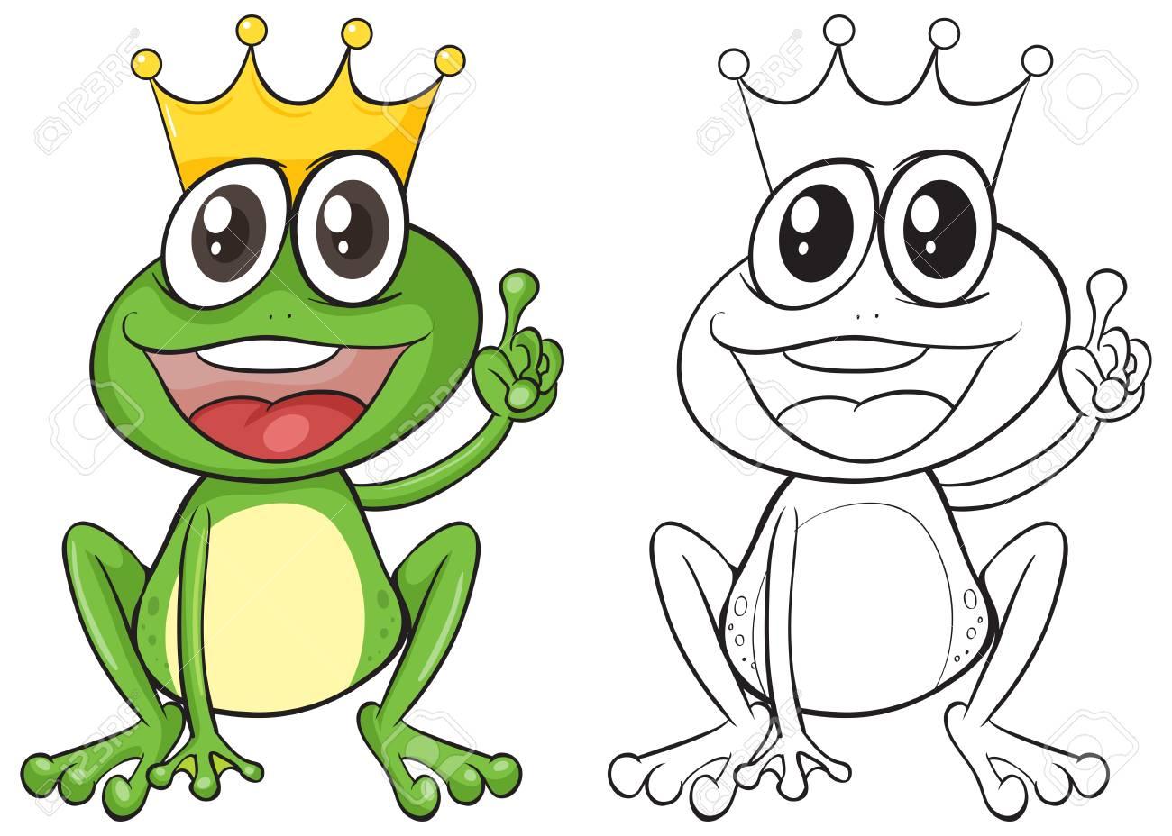 Tolle Frosch Umriss Vorlage Galerie - Beispiel Business Lebenslauf ...