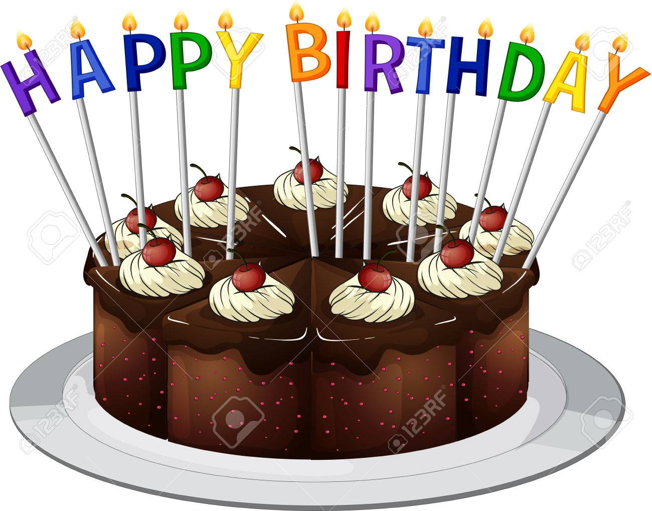 Birthday Cards Cake ~ Homemade birthday card the saturday evening post