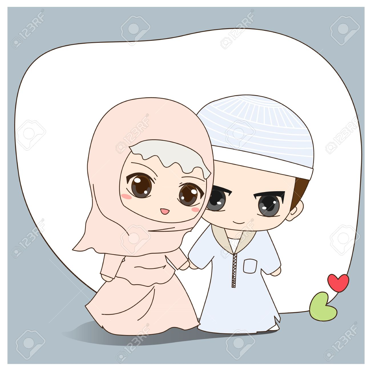 Gambar Kartun Couple Cute Kata Kata