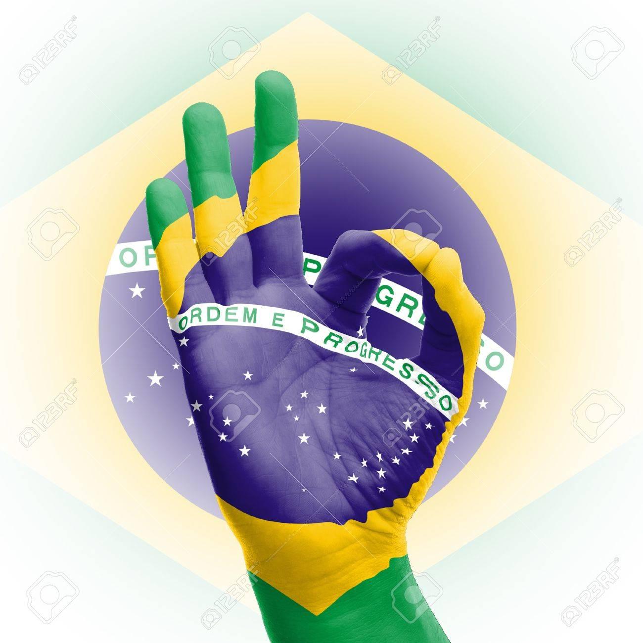 Ok sign in brazil