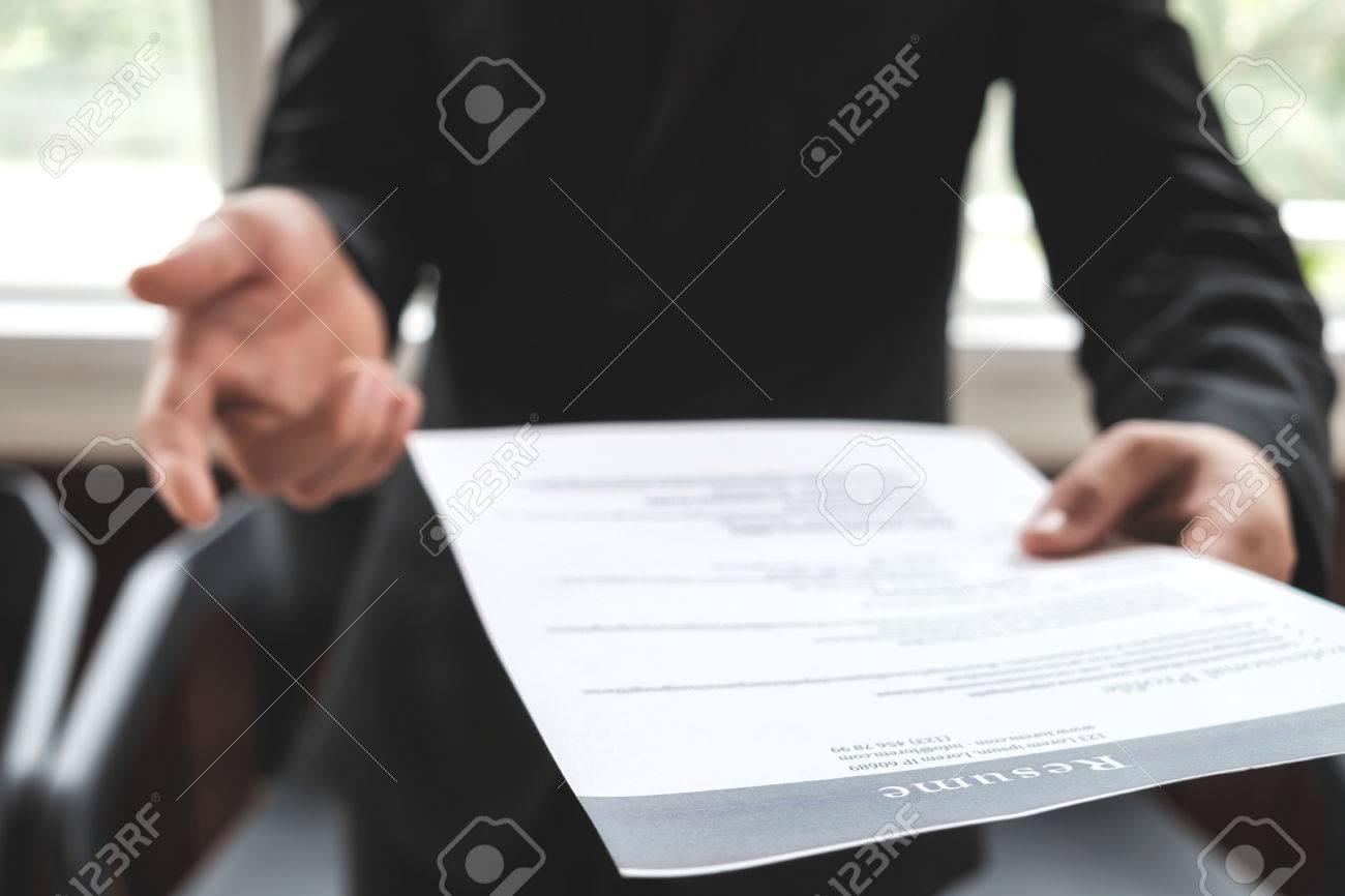Negocios Encontrar Un Nuevo Trabajo, Entrevistar El Trabajo Y La ...