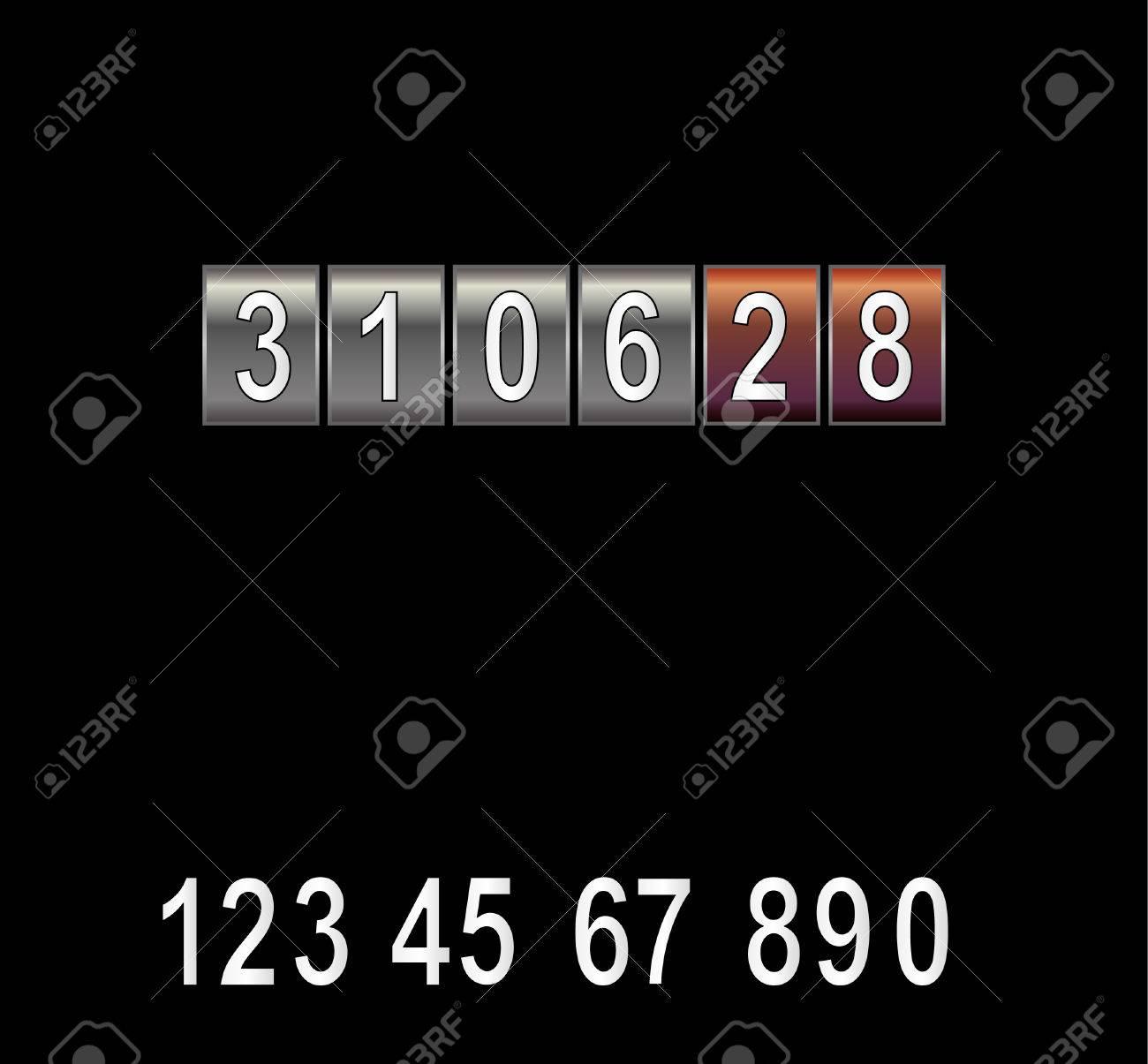 Counter. Vector illustration Stock Vector - 5705615