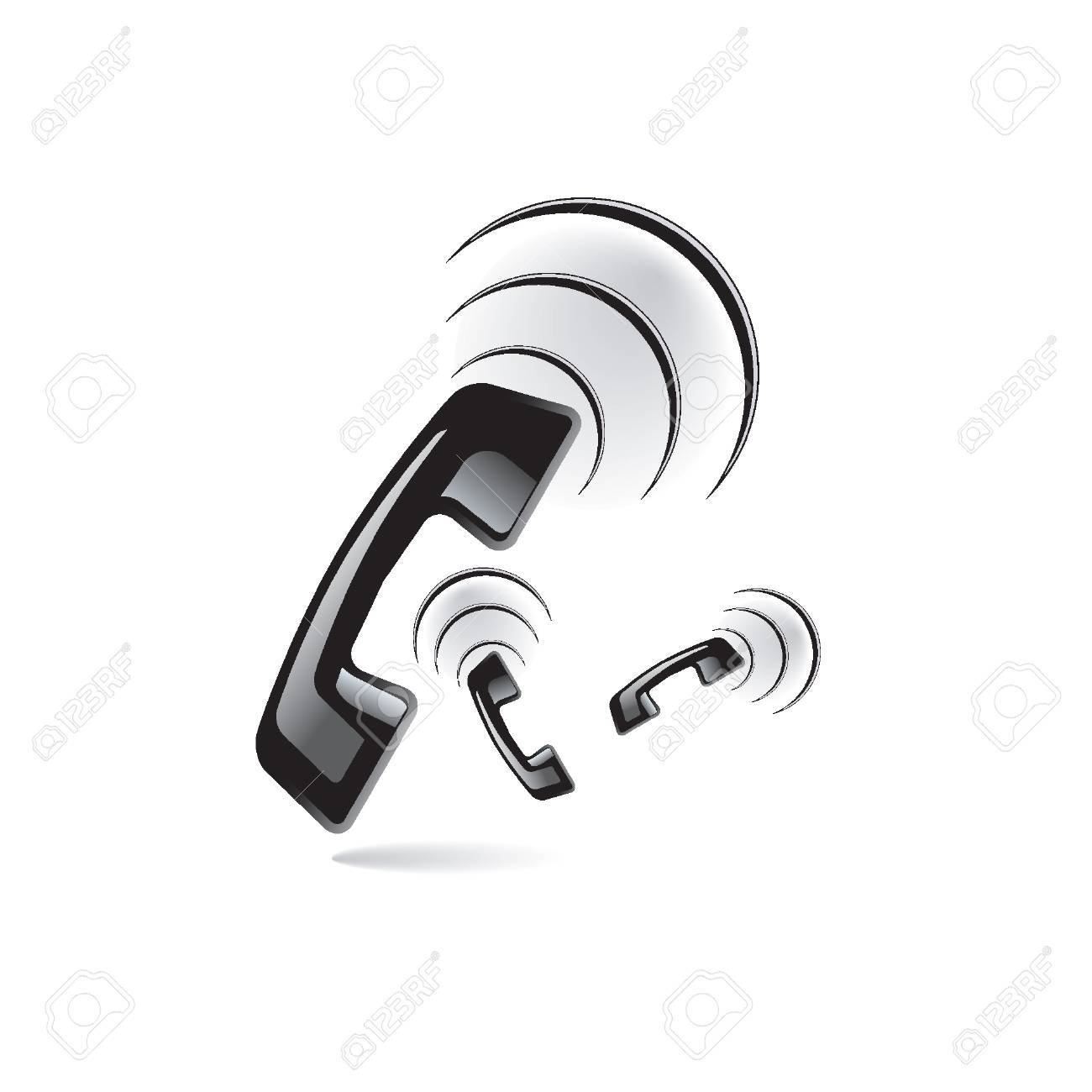 phone ring Stock Vector - 8164378