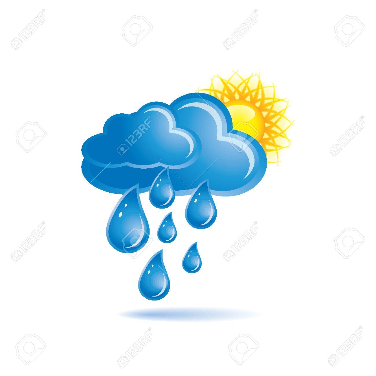 Rain and sun Stock Vector - 8198236