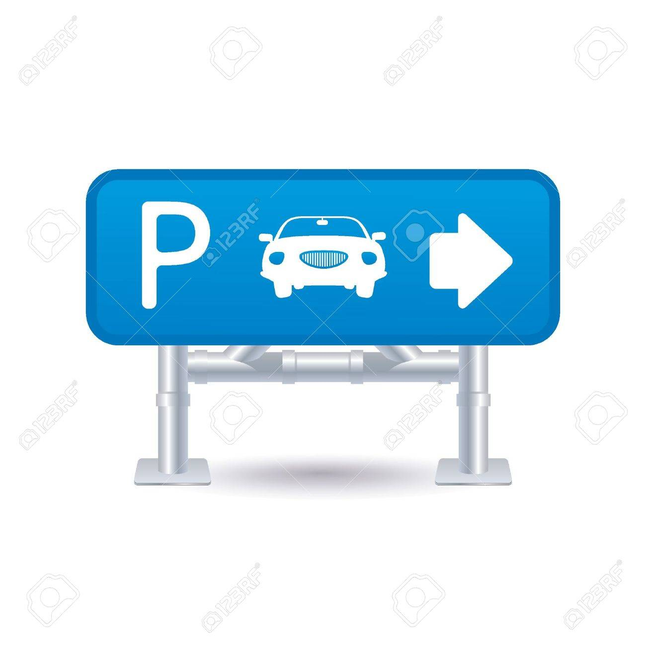 parking sign icon Stock Vector - 9201451