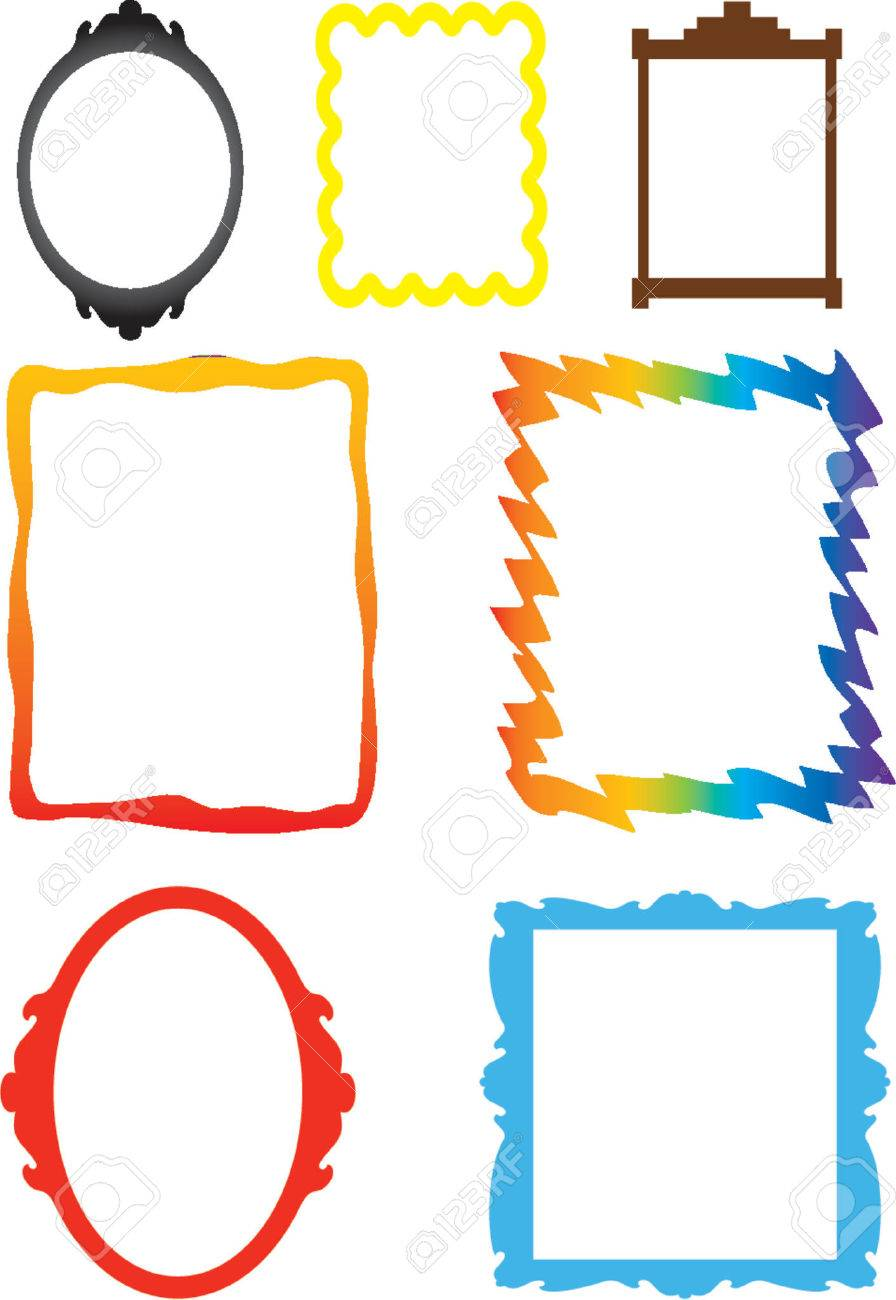 Funky Frames Royalty Free Cliparts, Vectors, And Stock Illustration ...