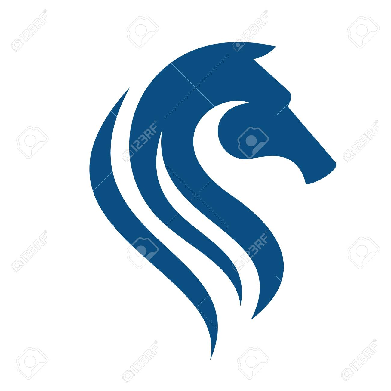 horse head logo sport team or club mascot royalty free cliparts rh 123rf com horse head logo free horse head logos for sale