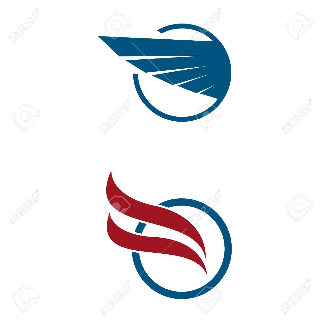 Aviation company emblem vector logo design  Airplane logo  Tickets