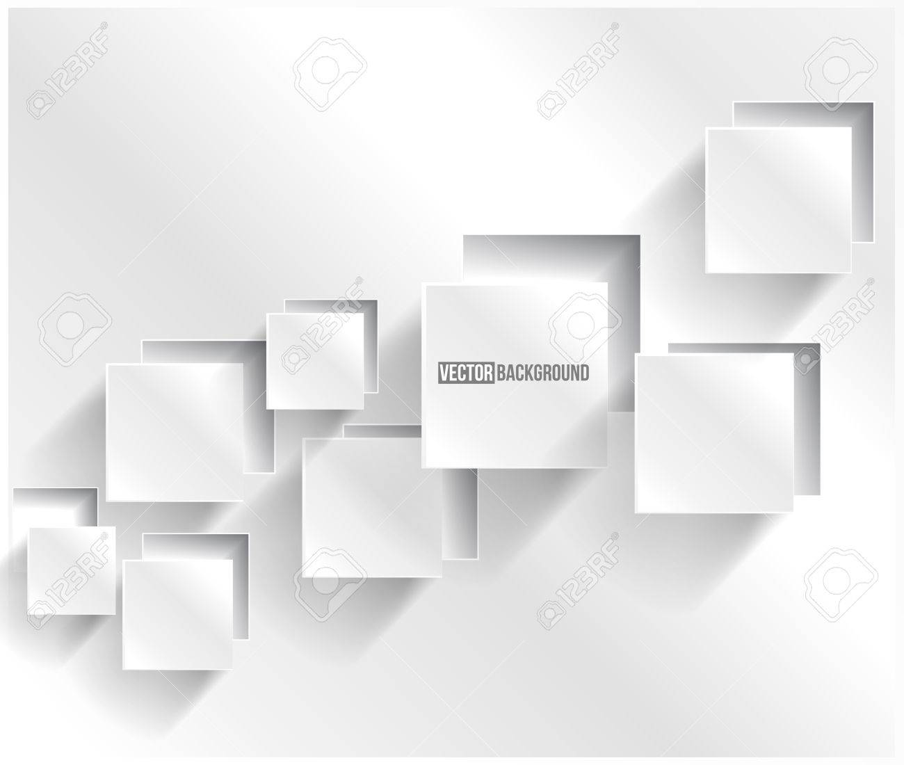 Vector abstract background square Web Design - 18913444