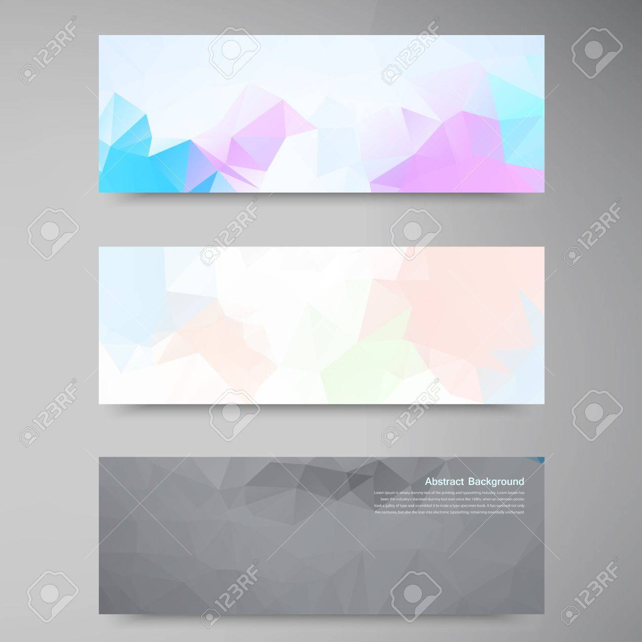 Vector abstract background. Polygonal pattern and object Stock Vector - 22071049