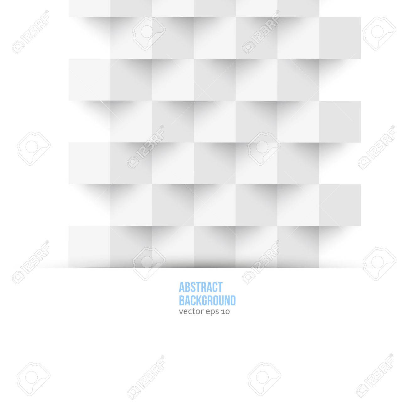 Vector abstract background. Polygon blue and card geometric Stock Vector - 22952498