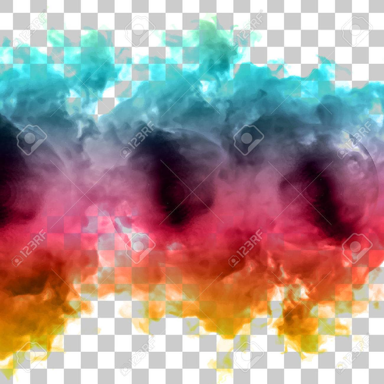 Vector color cloud. - 41495967