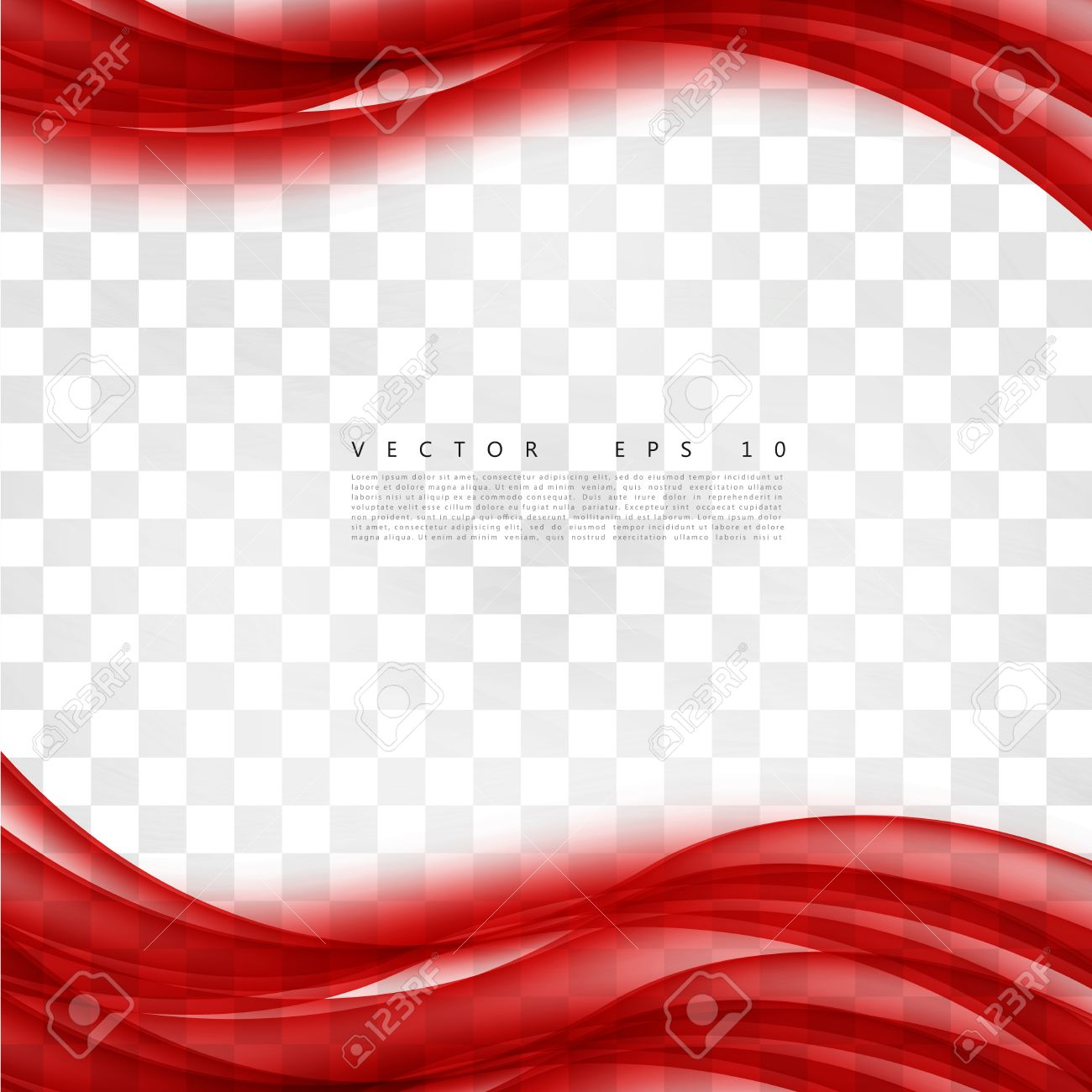 red background curve vector abstract red background design wavy