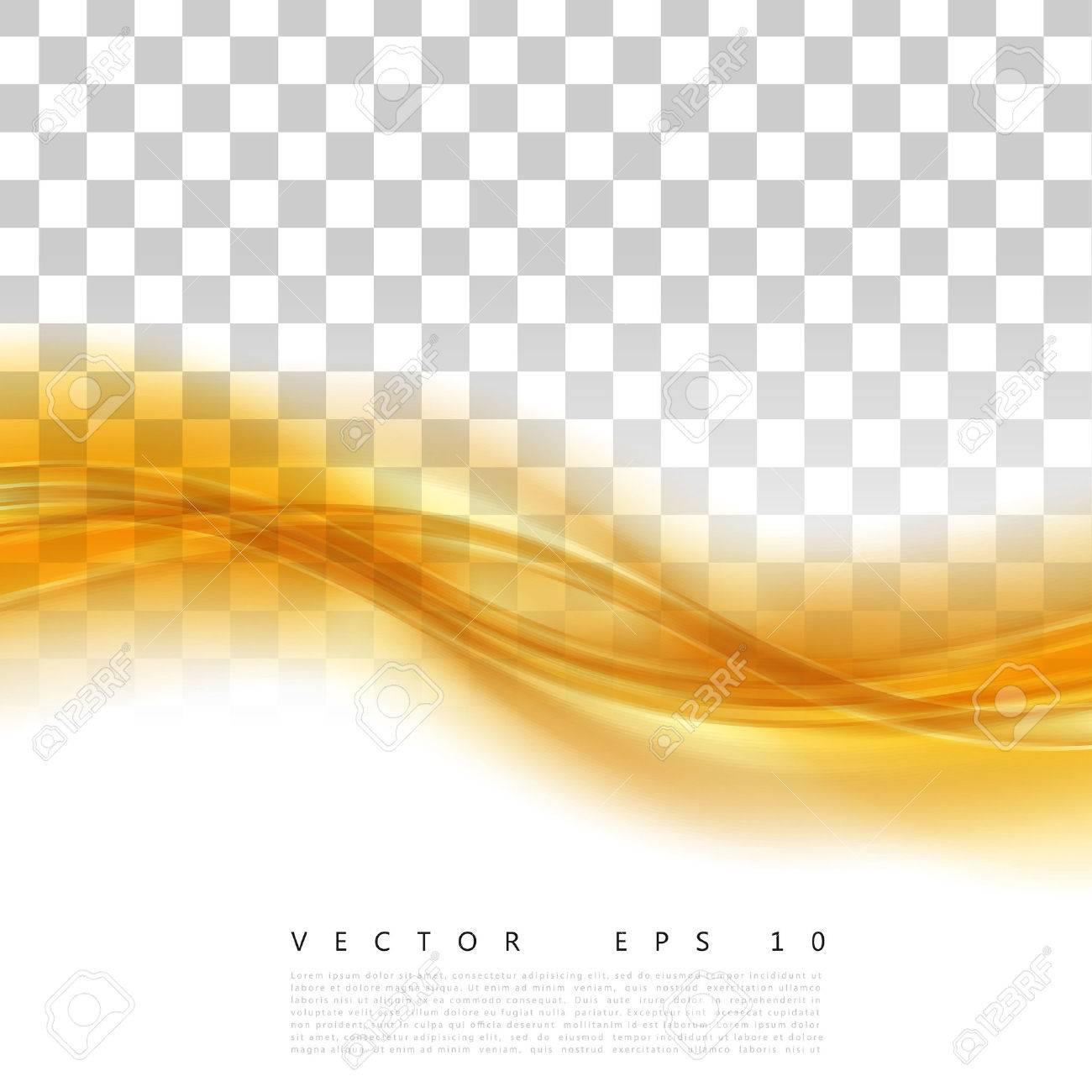 Vector Beautiful Gold Satin. Template brochure design - 52498462