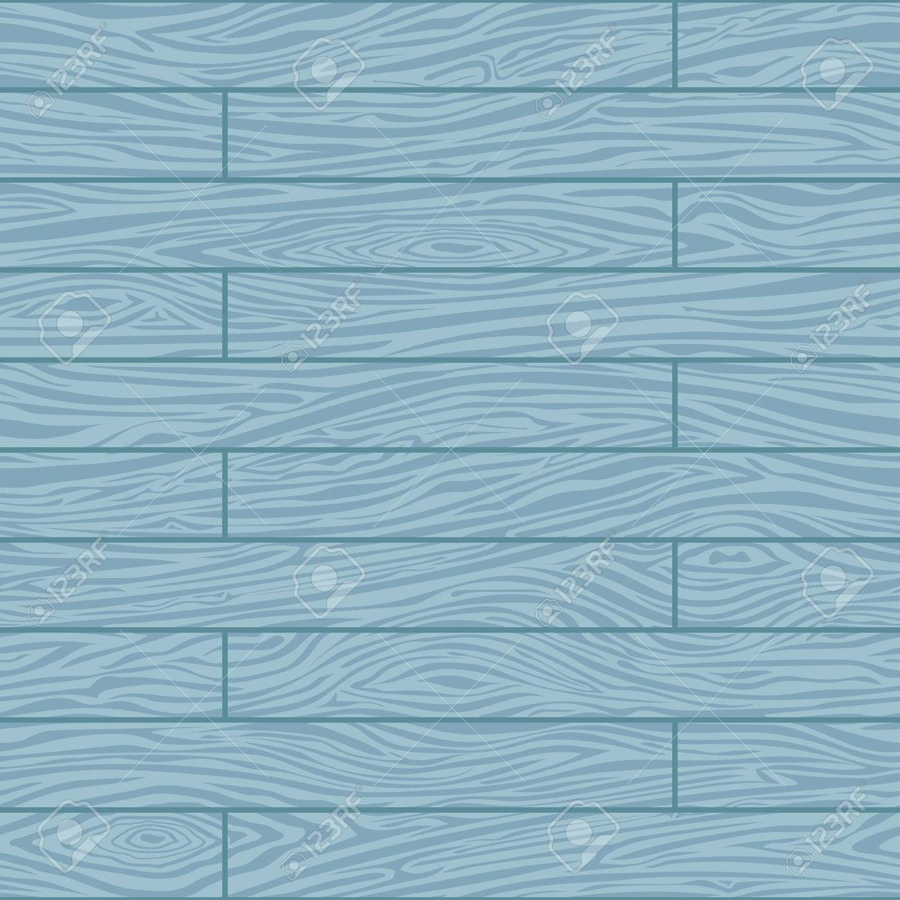 Seamless Abstract Wooden Board Background. Painted Blue Pattern ...