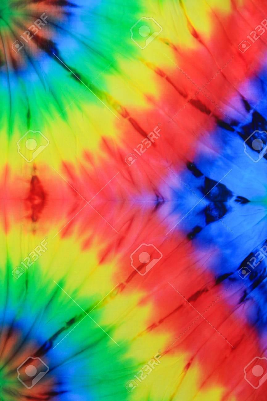 Tie Dye Swirling background pattern - 55937947