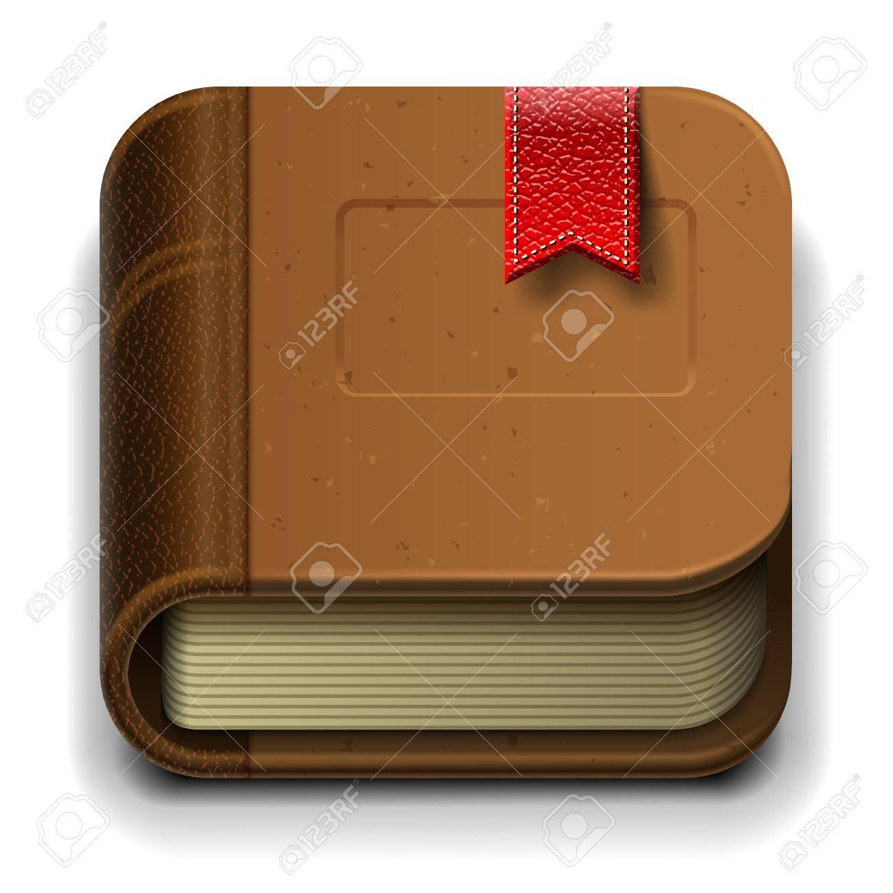 Ebook icon Stock Vector - 17061850