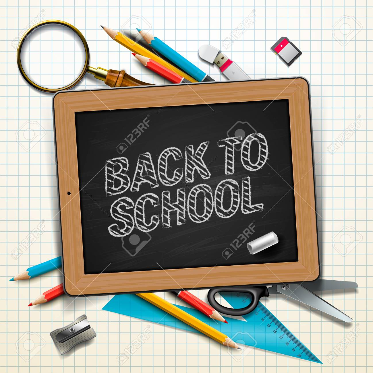 Welcome back to school Stock Photo - 20869287