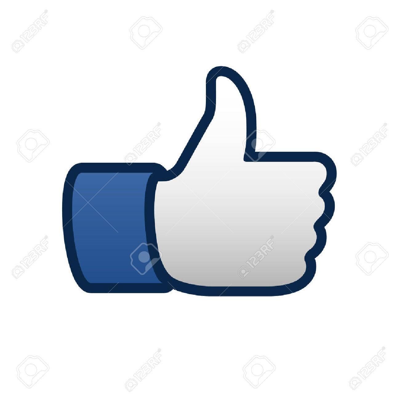 Best like thumbs up symbol icon, vector illustration. Standard-Bild - 38732239