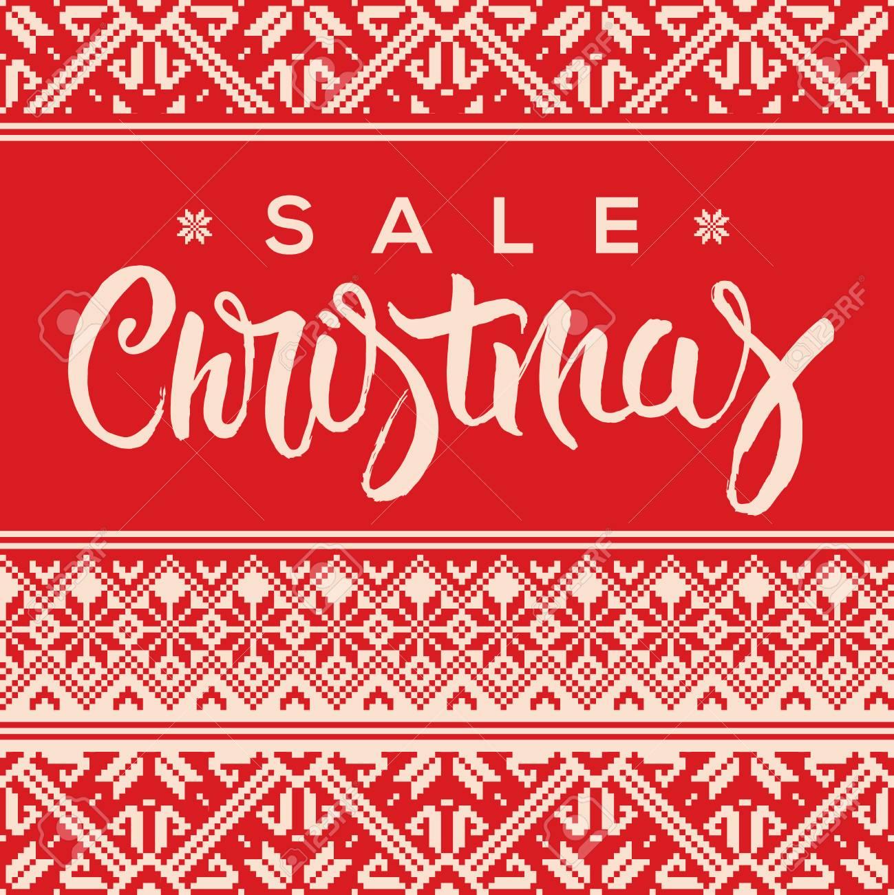 Weihnachtsverkaufshintergrund, Werbe-Plakat Für Weihnachtsverkauf ...