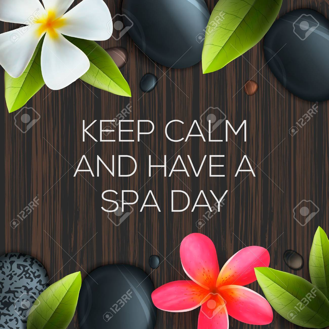 Velsete Keep Calm And Have A Spa Day, Healthcare And Beauty Template VP-13