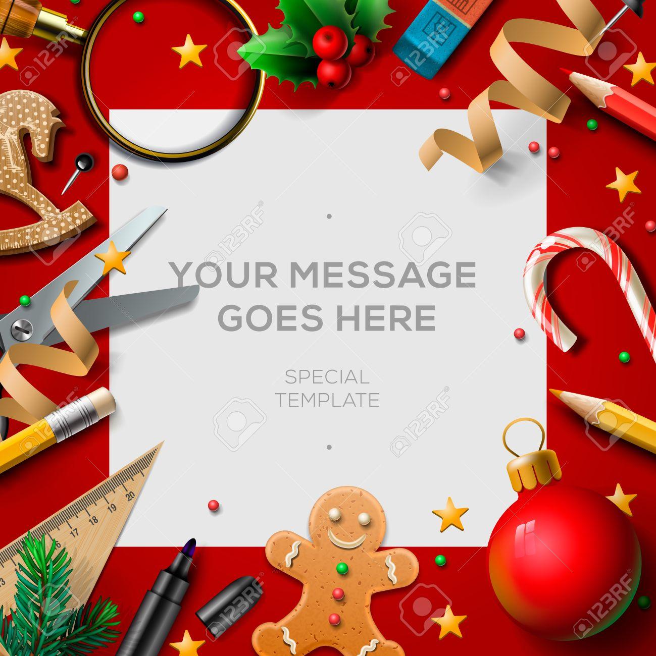 Christmas Break.School Holidays Christmas Break Poster Background For Winter