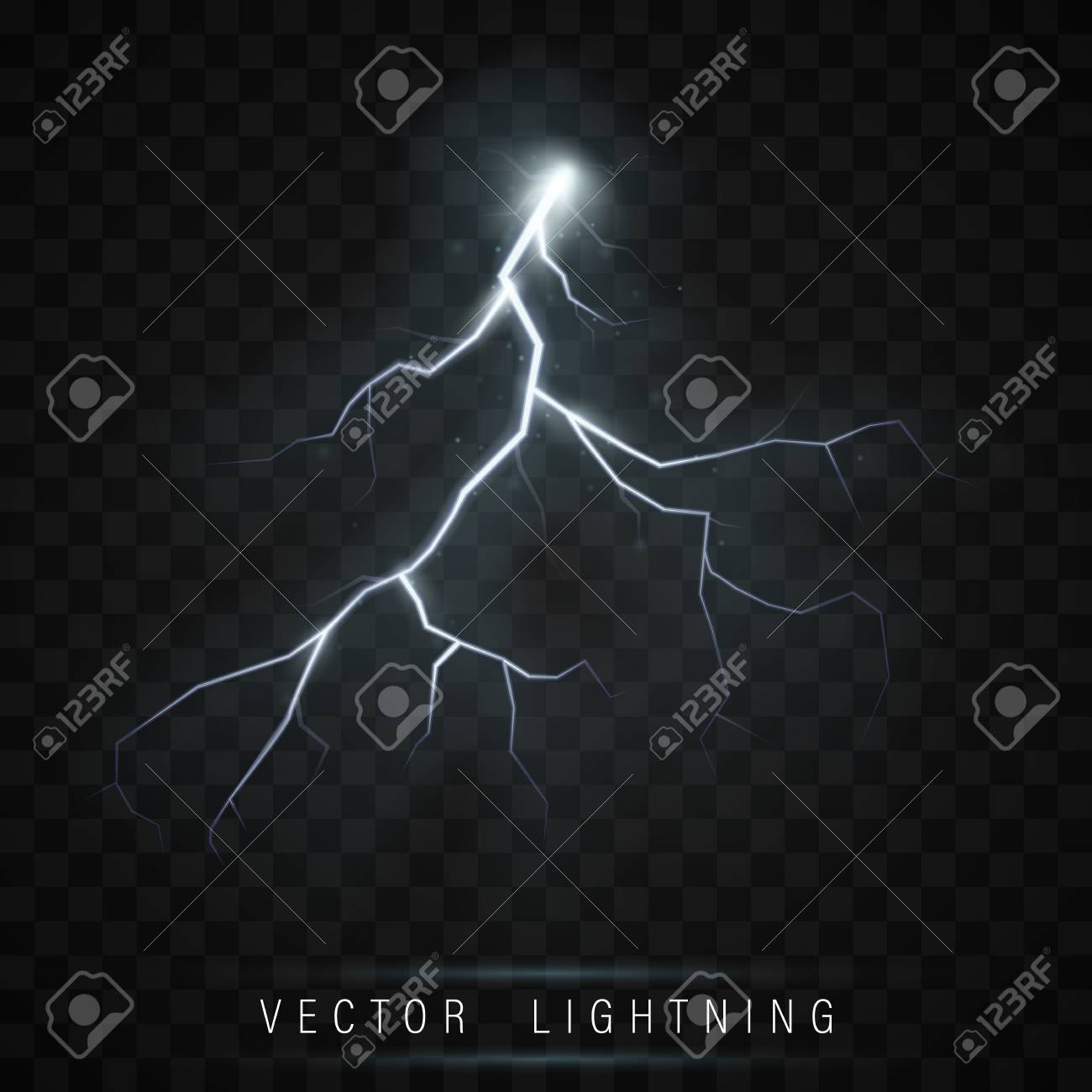 Lightning Flash Bolt Lightning Magic And Bright Light Effects Royalty Free Cliparts Vectors And Stock Illustration Image 110858611