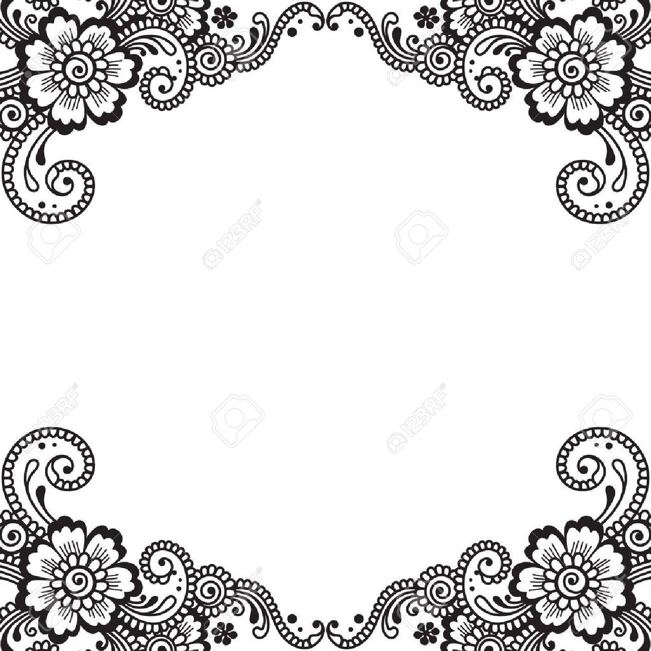 flower vector ornament corner royalty free cliparts vectors and stock illustration image 36294585 flower vector ornament corner