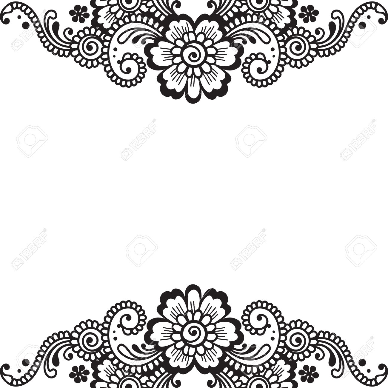 flower vector ornament corner royalty free cliparts vectors and stock illustration image 36374413 flower vector ornament corner