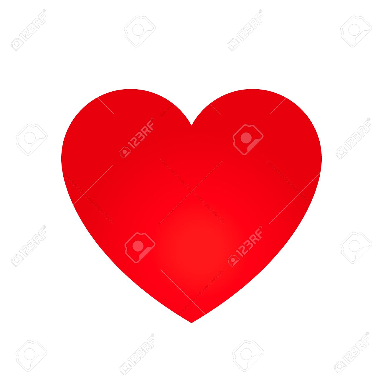 vector heart shape symbol illustration royalty free cliparts rh 123rf com vector heart shape illustrator vector heart shape outline