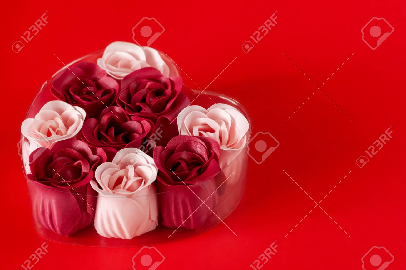 Gift Set Of Soap Valentines Day Spa Stock Photo Picture And Royalty Free Image Image 116411114